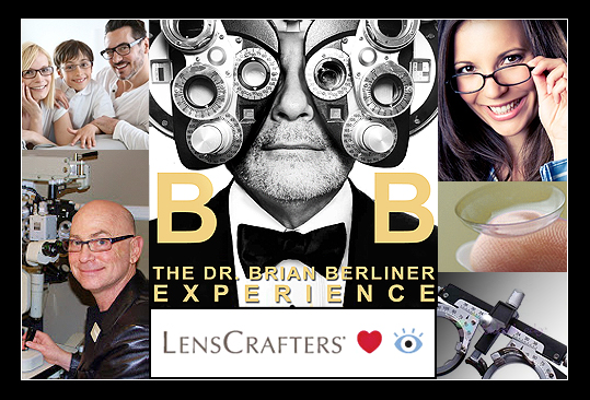 Dr. Brian K Berliner LensCrafters Collage